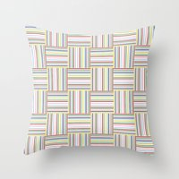 Basket Weave Throw Pillow