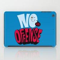 No Offense iPad Case