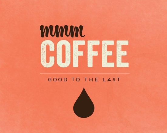 Mmm Coffee Art Print