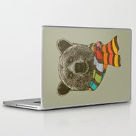 Winter Bear Laptop & iPad Skin