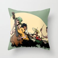 The Band II Throw Pillow
