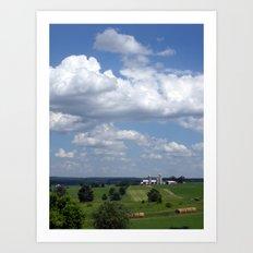 Wisconsin Farmland Art Print