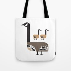 Holly Goose Tote Bag