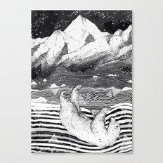 AWAKE & DREAMING Canvas Print