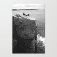 Us, Otter Cliffs Canvas Print
