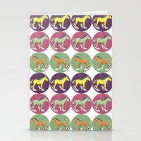 horses Stationery Cards featuring Horses by Lorenza Bluetiz
