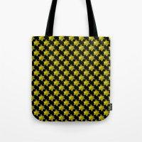 Daffodil On Black Tote Bag