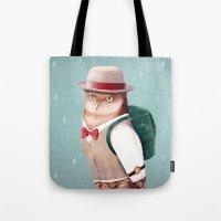 Going Home For Christmas Tote Bag