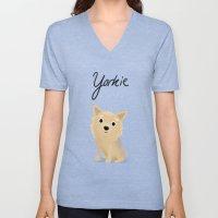 Yorkie - Cute Dog Series Unisex V-Neck