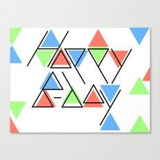 Happy B Day Canvas Print