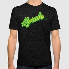 Hyrule Mens Fitted Tee Tri-Black SMALL