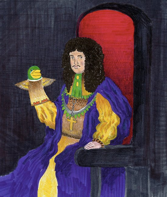 King Charles the Ventriloquist  Art Print