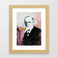 Freud Framed Art Print