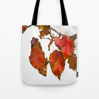 Autumn On A Branch Tote Bag