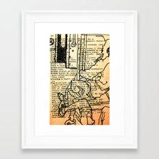 Bus series - 1 Framed Art Print