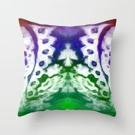 Throw Pillow featuring Lace 2 by Geni