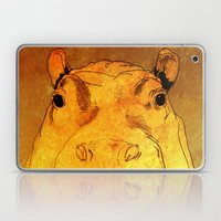 Golden Hippo Laptop & iPad Skin