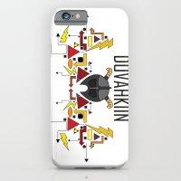 Skyrim: The Dovahkiin - RED (Skyrim) iPhone 6 Slim Case
