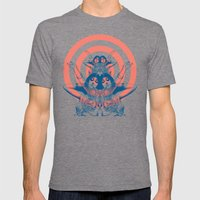 Space Ritual Mens Fitted Tee Tri-Grey SMALL