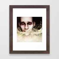 Refreshing Embrace Framed Art Print