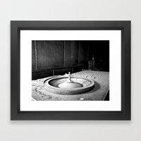 Roulette Framed Art Print