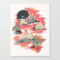 Canvas Print featuring Landscape Of Dreams by Dan Elijah G. Fajard…