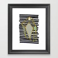 Illusory. Framed Art Print