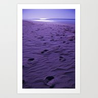Purple Nights  Art Print