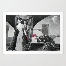 Fuck Snow White Art Print