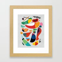 Still Life From God's Ki… Framed Art Print