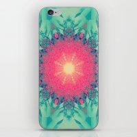 Iced Magma iPhone & iPod Skin