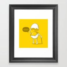 Heggllo! Framed Art Print