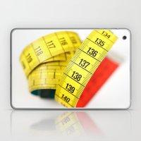 Measuring tape Laptop & iPad Skin
