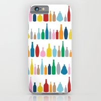 iPhone Cases featuring Bottles Multi by Project M