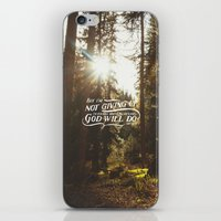 NOT GIVING UP iPhone & iPod Skin
