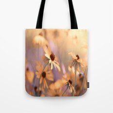Suns star in the autumn garden Tote Bag