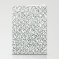 2,173 Pugs on Graph Paper Stationery Cards