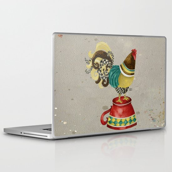 Rooster Willow Laptop & iPad Skin