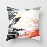 Lightrunner Throw Pillow