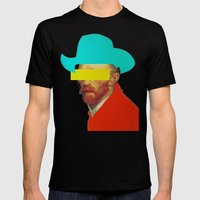 I wanna be a cowboy 3 Mens Fitted Tee Black SMALL