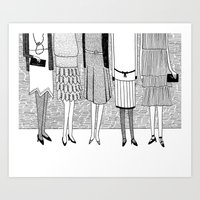 The Sunny Side Of The St… Art Print