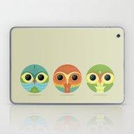 Tres Owls  Laptop & iPad Skin