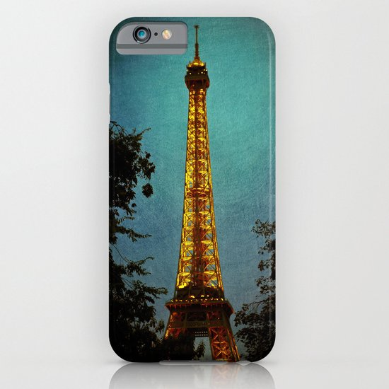 L'Eiffel - Eiffel Tower at Night iPhone & iPod Case