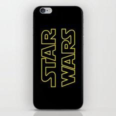 Star Logo Wars iPhone & iPod Skin