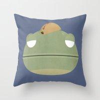 Taco Lizard Throw Pillow
