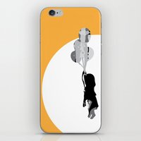 Little Girl With Balloon… iPhone & iPod Skin