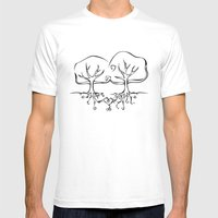 All The Pretty Blossoms Mens Fitted Tee White SMALL