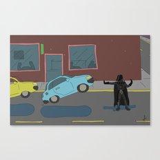 Darth Vader traffic Canvas Print