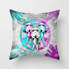 Star Wars Disposable Heroes! Throw Pillow