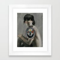 The Whispers.  Framed Art Print